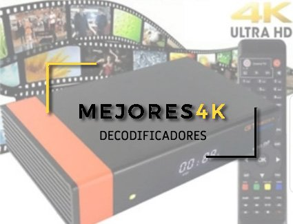 decodificador 4k satelite