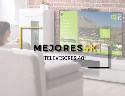 TELEVISOR 40 PULGADAS 4K