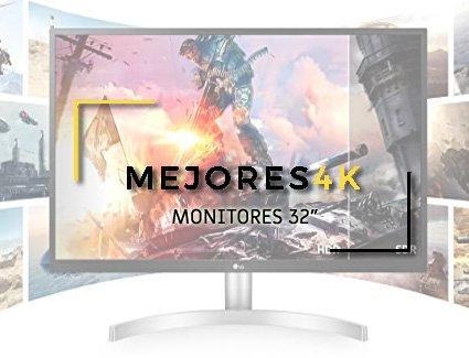 Monitores 32 Pulgadas 4K